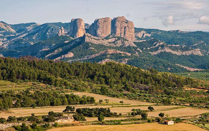 Roques de Benet en Horta de Sant Joan, Tarragona