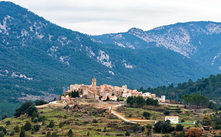 Aldea del Ballestar, Tinença de Benifassà
