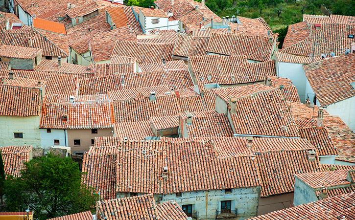 Casco urbano en Castellote